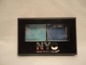 New York Colour (NYC), City Duet Eyeshadow, Yankee Blues (813B), Net Wt. 0ml