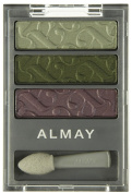 Almay Intense I-colour Powder Shadow Trio for Greens # 004, 5ml, 1 Pack