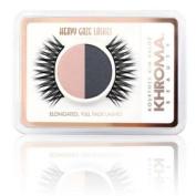 Khroma Beauty - Kourtney, Kim, Khloe Kardashian Heavy Gaze Lashes and Eye Shadow