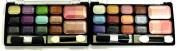 24 Rainbow Glitter Eyeshadow and 4 Blush Colours