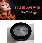 "ITAY Beauty Pressed Mineral Eye Shadow (2.5g) #270cm Silver"" + A-viva Nail Buffer"