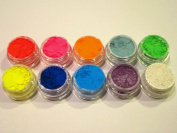 10 MYO Ultra Bright Colour Set Eyeshadow Pigment Mica Cosmetic Mineral Makeup Limited Colour Edition 3 Gramme Size