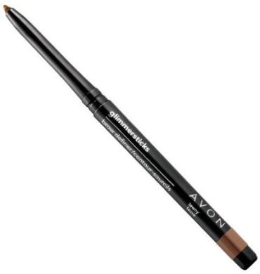Avon Glimmersticks Eye Brow Pencil Definer Dark Brown