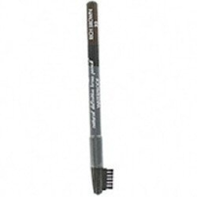 Sorme Waterproof Eyebrow Pencil With Brush Soft Rich Brown #33