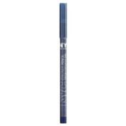 NYC New York Colour Waterproof Eyeliner Pencil, 935A Moody Blue, 0ml
