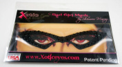 Xotic Eyes Butterfly Glitter Professional Eye Make up Costume Accessory