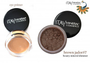 "ITAY Beauty Mineral Eye Primer+ 100% Natural Eye Shadow Colour #18cm Brown Jador"""