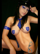 Xotic Eyes Cuffed Body Glitter Professional Make up Costume Accessory