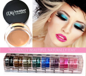 Itay Mineral 9 Stacks Shimmer Best 4 Black + Eye Primer + Cala Mineral Brush 77120