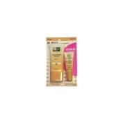 Almay Smart Shade Makeup, Light 100, 30ml PLUS BONUS Smart Shade Concealer, Light 010, 10ml