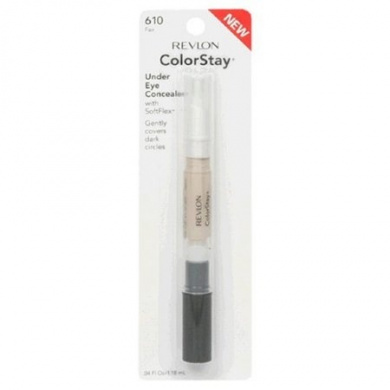 Revlon ColorStay Under Eye Concealer with SoftFlex, SPF 15, Fair 610, 0ml