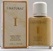 I Natural Satin Finish Moisture Foundation - Sun Gold