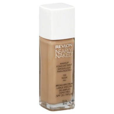 NEW Revlon Nearly Naked Liquid Makeup 150 Nude