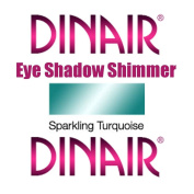 DINAIR AIRBRUSH EYE SHADOW SHIMMER MAKEUP - 1 Bottle SPARKLING TURQUOISE 5ml