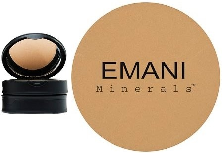 5bb898e1d1cf Emani Vegan Cosmetics Flawless Matte Pressed Powder Foundation - 100%  Natural, Organic, Vegan and Gluten Free, Perfect for Combination to Oily  Skin, ...