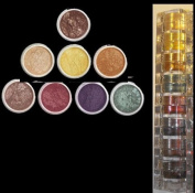 """Micabella Mineral 8stacks Eye Shadow """"A-viva-green Eyes"""