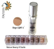 ITAY Beauty Mineral Flawless Liquid Foundation Biege #LQMF-3 +8 Stacks Colour