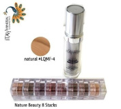 ITAY Beauty Mineral Flawless Liquid Foundation Natural #LQMF-4 +8 Stacks Colour