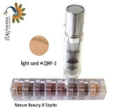 ITAY Beauty Mineral Flawless Liquid Foundation Light Sand #LQMF-2 +8 Stacks Colour
