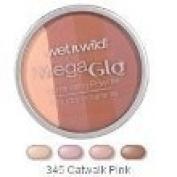 Wet n Wild MegaGlo Illuminating Powder, 345 Catwalk Pink, 10ml