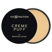 Max Factor Creme Puff Pressed Compact Powder, 21 g - 13 Nouveau Beige