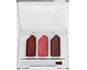 Jordache Cosmetics 3 Colour Lip Gloss Trio Cream w/Applicator Brush