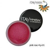 "ITAY Beauty Mineral Cosmetics Nourishing Colour Lip Pot -""Pink Rose"" - 01"