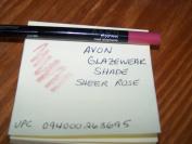 Lot of 3 Avon Glazewear Lip Liner Shade Sheer Rose