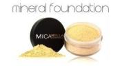 Micabella Mineral Makeup Foundation Mf5 Cappuccino+ 1x Lip Pot Hot Pink