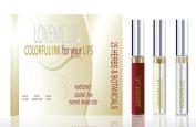LoveMe Lip Colourful Ink for Your Lips KIT (Colour, Moisturising Gloss, Remover) - ROMANCE