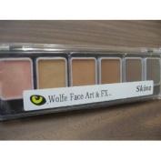 Wolfe 6 Colour Palette/Face Paint Kit