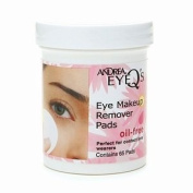 Andrea Eye Q's Oil Free Eye Make-up Remover Pads