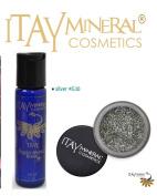 ITAY Mineral Cosmetics Liquid Sparkle Bond + Glitter Powder G10 Silver
