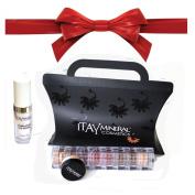 "ITAY Beauty Mineral 8xStacks ""Nature"" + ITAY Hydra-Pure Eye Serum + Free Sample Size Foundation MF-3 Cafe Au Lait + Gift Box"
