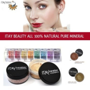 Itay 100% Mineral Foundation MF5 'Dulce De Leche' + 8-stack 100% Mineral Eyeshadow 'Carribean Samba' + *Free Gift* ITAY 100% Mineral Blush MB6 'Raspberry Smoothie'