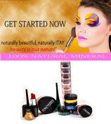 "ITAY Mineral Cosmetics Get Started Kit with ""Cafe Au Lait"" Mineral Foundation MF3"