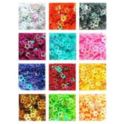 12 type practical nail art hollow star decoration tips