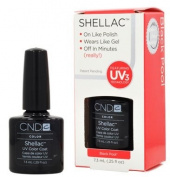 CND Shellac BLACK POOL Gel UV Nail Polish 5ml Manicure Soak Off Pedicure 1/4