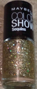 Maybelline Colour Show Sequins Nail Polish Lacquer, Limited Edition Gold's Night Out #815.