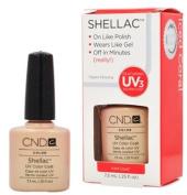 CND Shellac ICED CORAL Gel UV Nail Polish 5ml Manicure Soak Off Pedicure 1/4