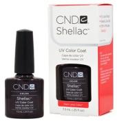 CND Shellac DARK LAVA Gel UV Nail Polish 5ml Manicure Soak Off Pedicure 1/4