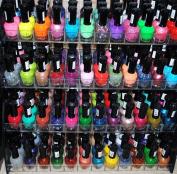 48 Piece Rainbow Colours Glitter CVC Nail Polish Lacquer Set + 3 Scented Nail Polish Remover