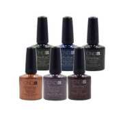 CND Shellac UV Nail Gel Polish Fall WINTER WONDERFUL 2012 Collection 6 Colour Set