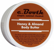 c. Booth Body Butter, Honey Almond, 240ml