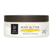 Bon Vital Body Butter Finishing, Lemon & Sage, 240ml Jar