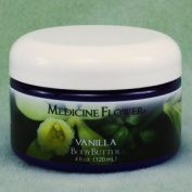 Body Butter Vanilla By Medicine Flower 120ml Jar