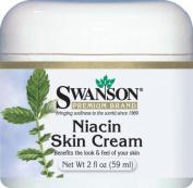 Niacin Skin Cream, 96% Natural 2 fl oz (59 ml) Cream