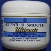 Clear N Smooth Ultimate Skin Toning Cream 120ml