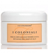 I Coloniali Deep Massage Body Cream with Myrrh 200ml cream