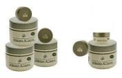 Infinite Aloe Skin Care Cream, Fragrance Free, 240ml - 4 Jars - ** (Plus 4 Bonus 15ml InfiniteAloe Travel Jars) **
